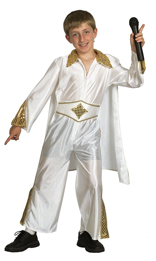Amazon.com: Bristol Novelty CC534 Rock Star Costume, Gold ...
