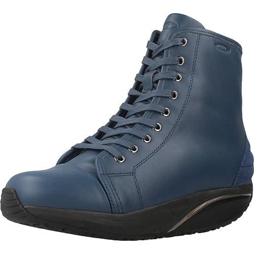 MBT Monya 700944-1157N Boot Blu Booty  Amazon.it  Scarpe e borse e1bca00b300