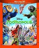 Zootropolis [Blu-ray 3D + Blu-ray] [2016] [Region Free] [UK Import]