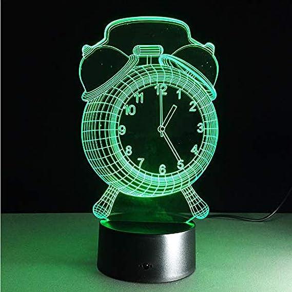 Luz de noche Reloj despertador Estilo Juguete Color Activar ...