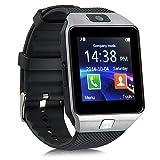 kivors® DZ09Bluetooth SmartWatch avecAppareil photo pour montre téléphone SIM Support anti-perte Rappel d'appel Message Carte TF Podomètre pour Smartphone Android