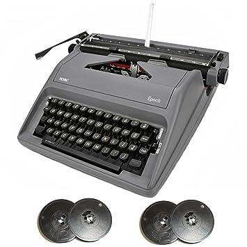 Royal época portátil Manual Máquina de escribir (gris) & máquina de escribir (2