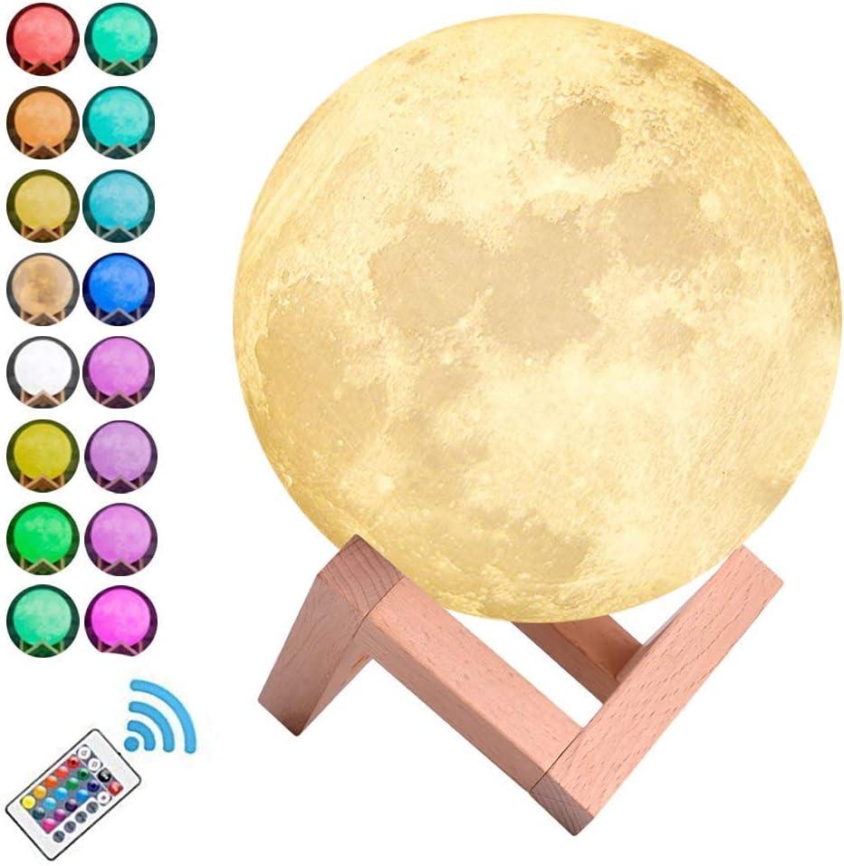 Nordvpn Luz de Noche iluminación LED 3D impresión Caliente Luna ...