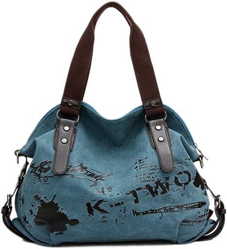Details about  /Women/'s Casual Canvas Handbag Shoulder Tote Bag Messenger Hobo Tote Satchels USA