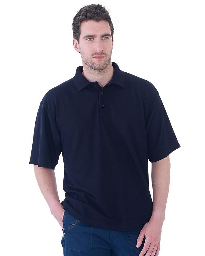 Ultimate Clothing Collection aduluts kurzärmelig Freizeit 50/50 Pique  Polohemd: Amazon.de: Bekleidung