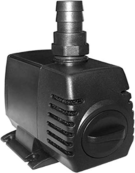Amazon Com Danner Manufacturing Inc Hampton Water Gardens Pond Waterfall Pump For Aquarium Filter 300 Gallon 80435 Pet Supplies