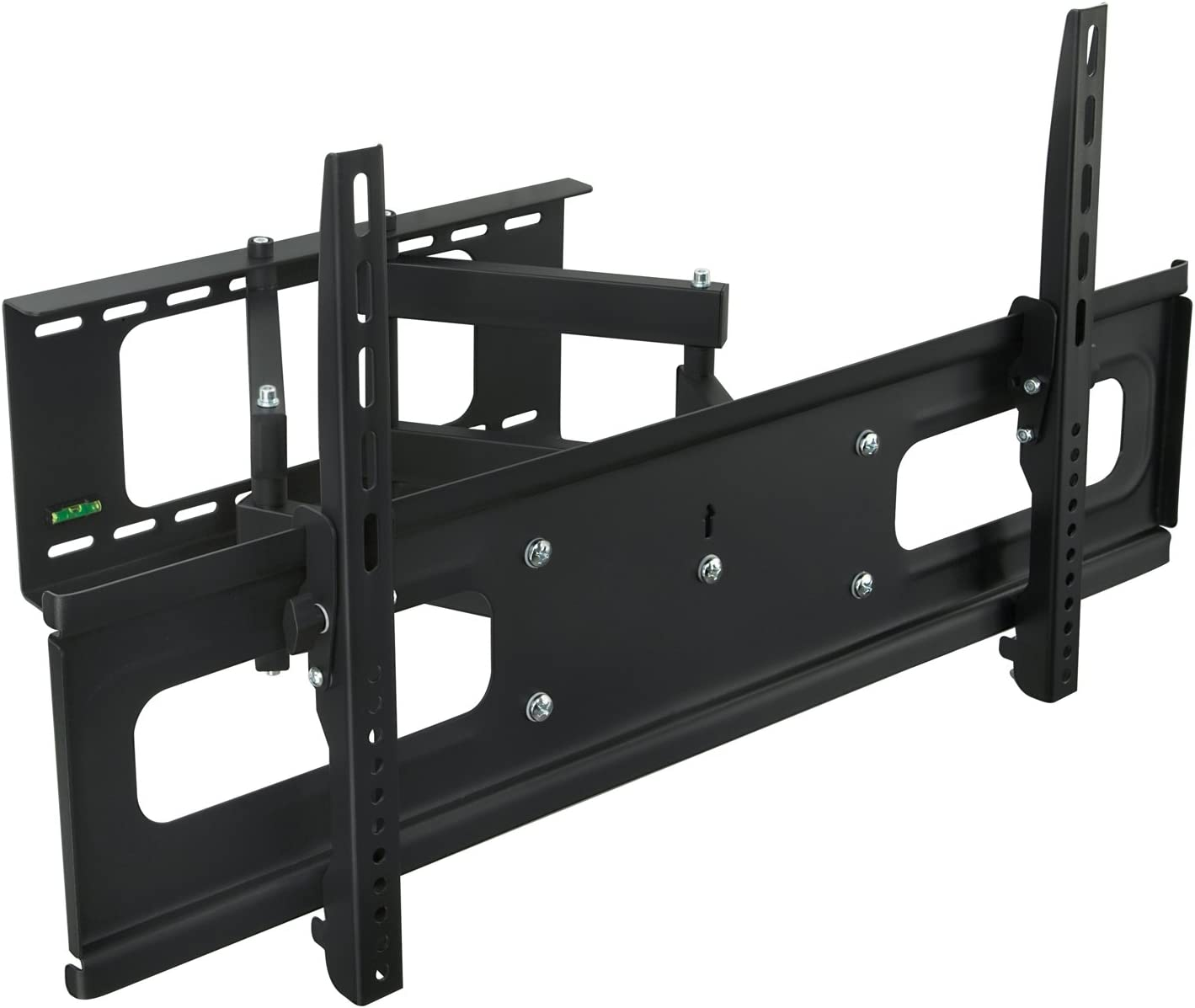 "Mount-It! MI-349B/948 Articulating TV Wall Mount Bracket Dual Arm Swivel Design for LCD/LED/4K TVs Fits Most 37""-70"" TV, VESA 200x200, 400x200, 400x400, 600x400 and More"
