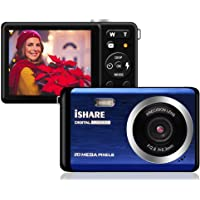 "Digital Camera - 2.8"" TFT LCD Display Rechargeable Simple Digital Camera with 20mp for Kid/Girls/Boys/Students/Elderly (Blue)"