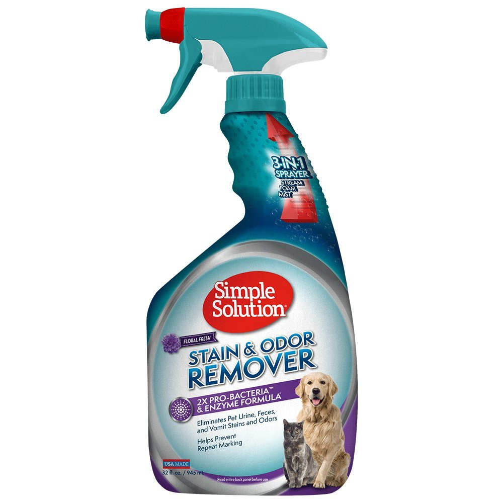 Simple Solution 11892N-12P Pet Stain and Odor Remover