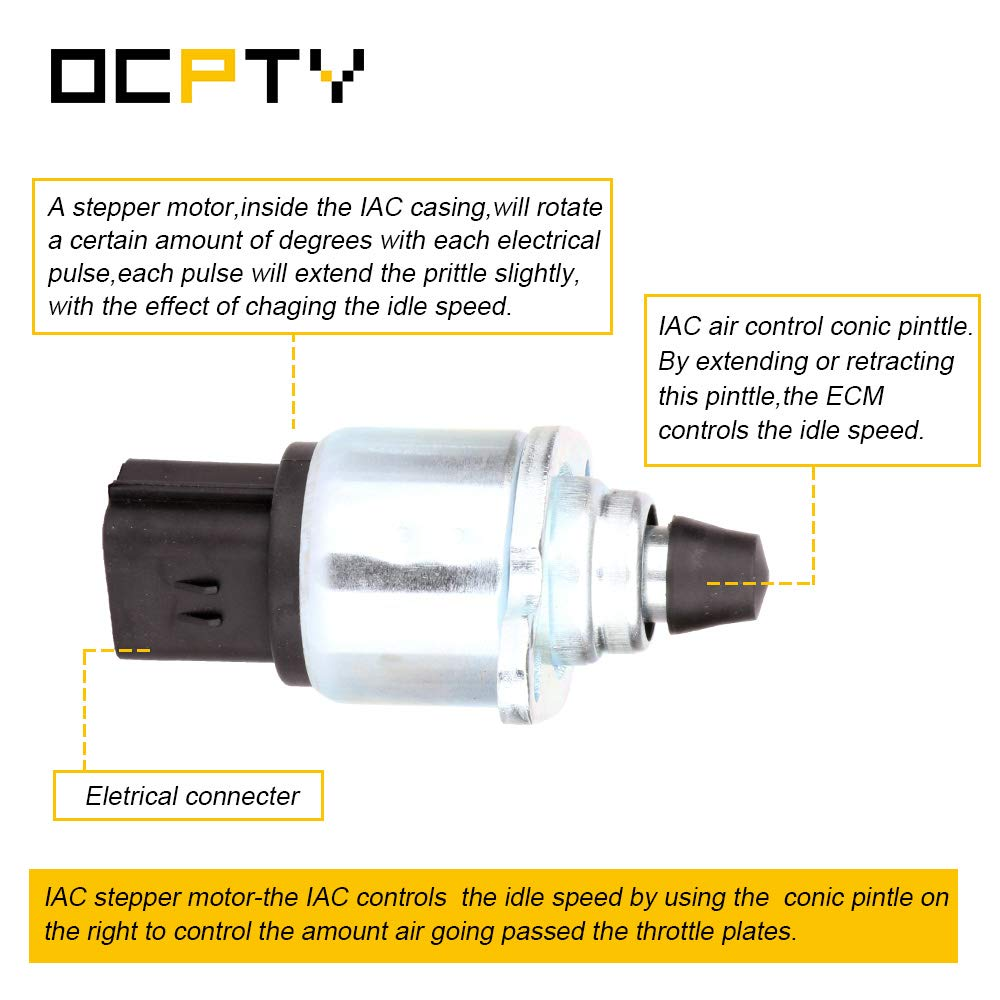 OCPTY 2H1306 Fuel Injection New Idle Air Control Valve FIT for 2003 on