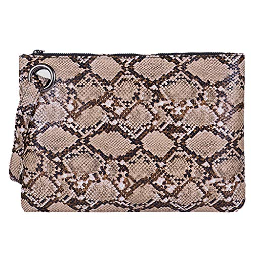Serpentine Clutch - Fashion Women Shopping Zipper Serpentine Messenger Bag Phone Bag Wallet Clutch,Outsta 2019 New Arrival Fashion Bags