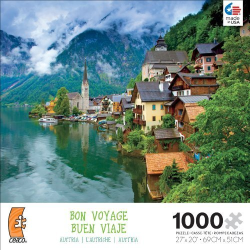 Ceaco Bon Voyage Travel Photographs Austria Jigsaw Puzzle by Ceaco