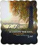 MW Faith Is Daring The Soul 50 X 60 Quilt 50X60