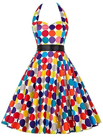 Eudolah elegante falda mid 50s Retro Audrey Hepburn Swing Pinup ...