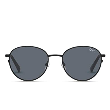 2668c8d965 Quay Australia CRAZY LOVE Women s Sunglasses Classic Round - Black Smoke