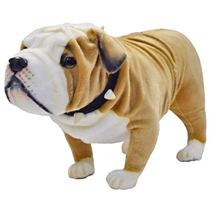 9903354d66f Amazon.com  Hansa British Bulldog Collectible Plush