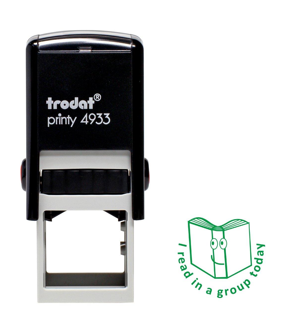 Trodat Printy I Read In A Group', motivo: anno scolastico Dormy Ltd 68196