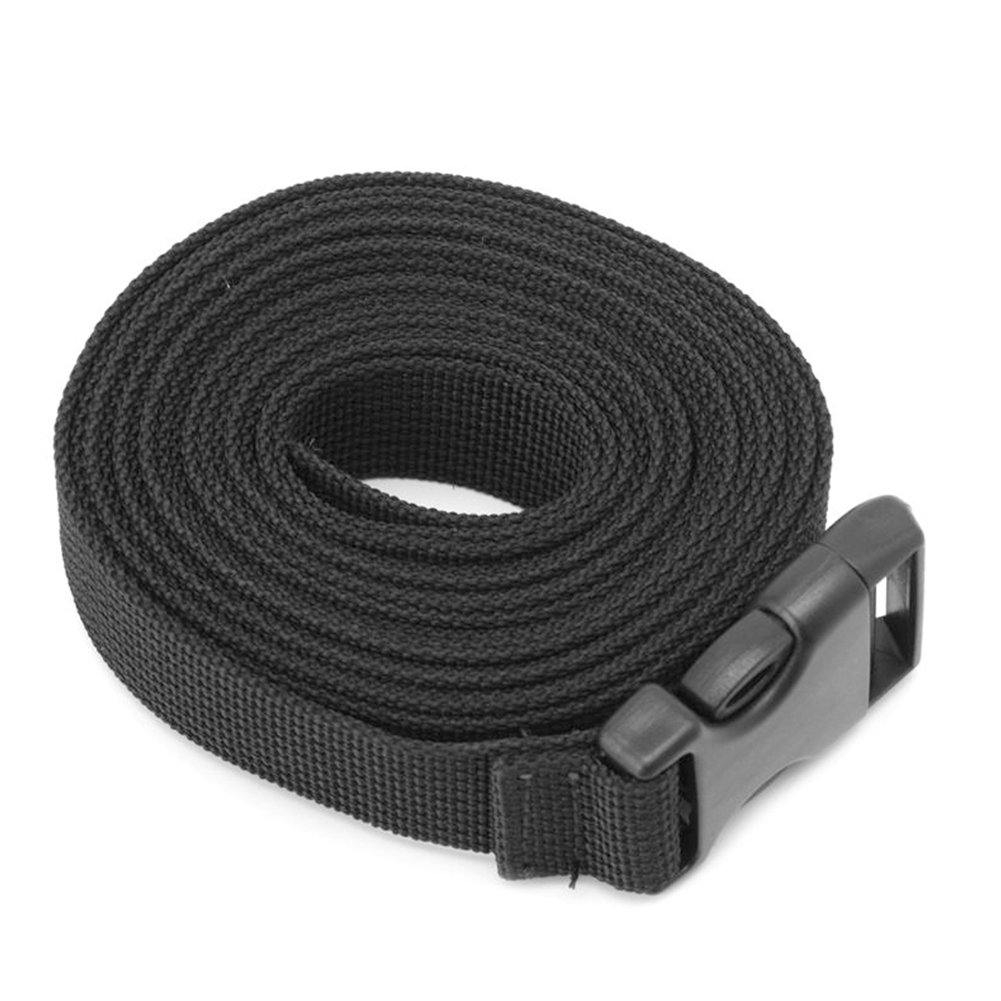 Sangle de Ceinture d'emballage de Bagage, Sac à Dos Accessoire en Nylon Luggage Strap Long Lash Sangle, Sangle de Sac de Couchage Outdoor avec Boucle à Libération Rapide Tied Band Ceinture Fixe Picturer7