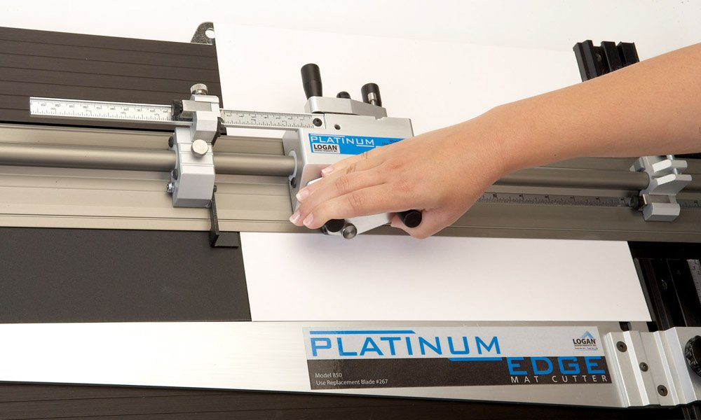 Logan 860 Platinum Edge 60 Inch Mat Cutter For Professional Framing and Matting by Logan Graphics (Image #4)
