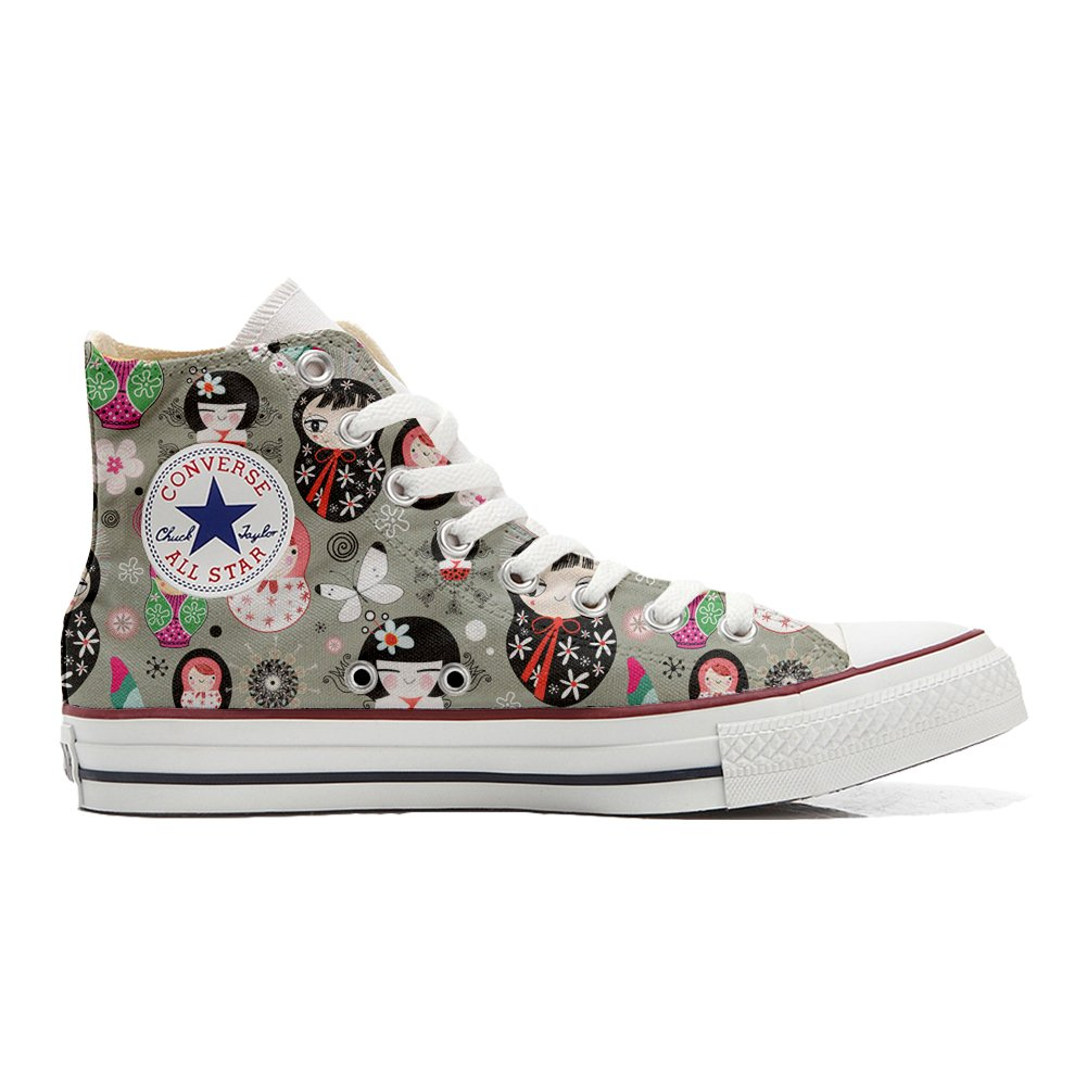 Converse All Star personalisierte Schuhe (Handwerk Produkt) Matrilu  41 EU