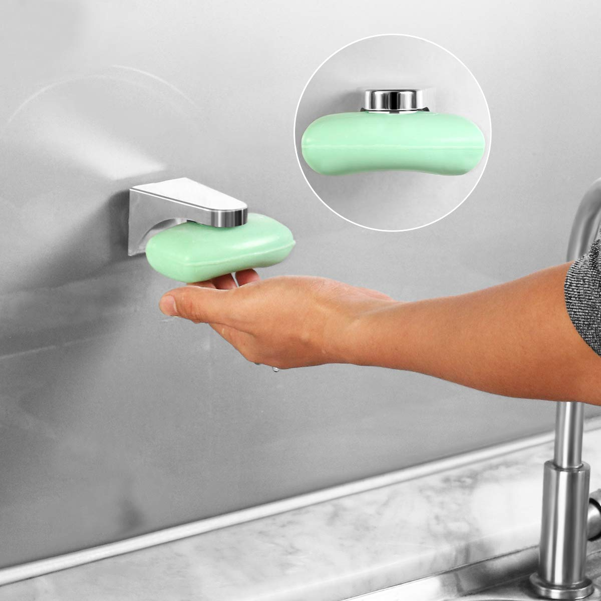 Home & Office - Magnetic Soap Holder