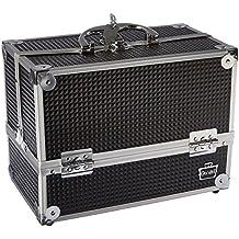Caboodles Stylist 6 Tray Train Case, Black Diamond, 3.875 Pound