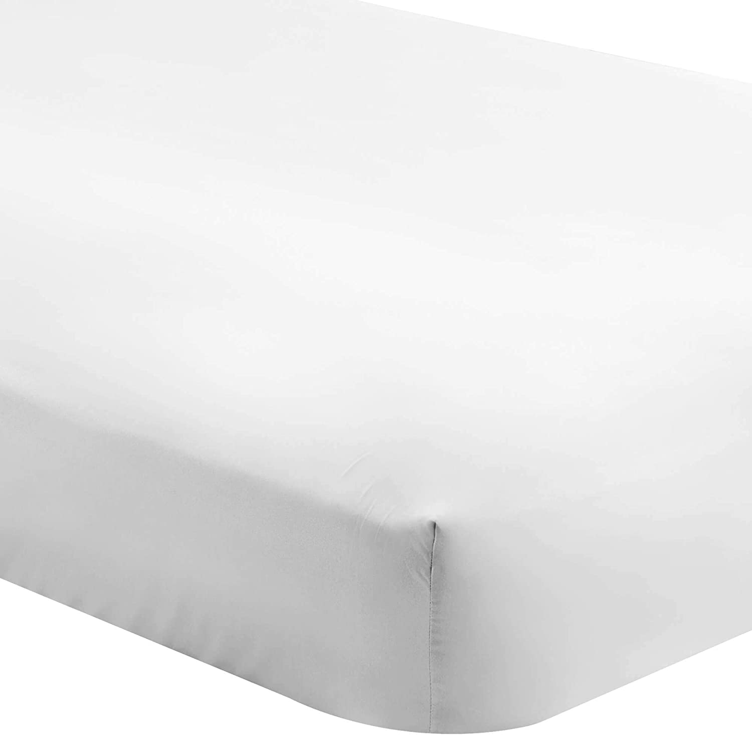 "Bare Home 5 Twin XL Fitted Premium Ultra-Soft Bed Sheets (5-Pack) - Hypoallergenic, Twin Extra Long, 15"" Deep Pocket, 39"" x 80"" (Twin XL, White)"