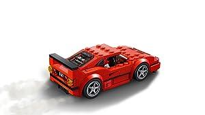 LEGO Speed Champions Ferrari F40 Competizione 75890 Building Kit , New 2019 (198 Piece) (Color: Multi)
