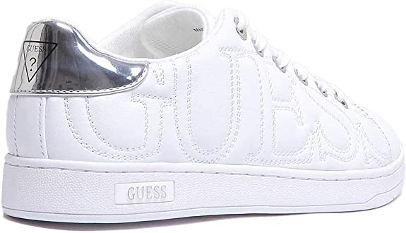 GUESS Cestin Trainers in White