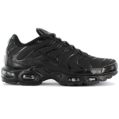 Nike Men's Air Max Plus Black / Black / Black Synthetic Cross-Trainers Shoes 13 M US | Running