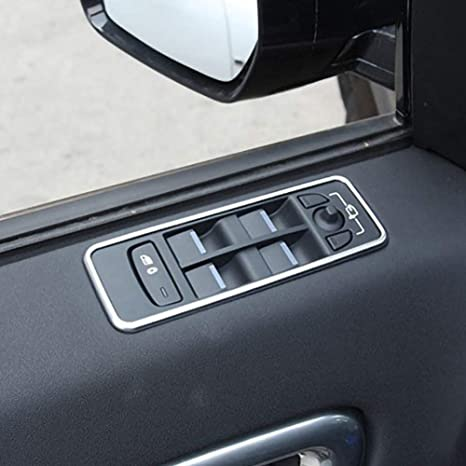 Ajboy Car Inner Console Air Condition Knob Trim Cover for Land Rover Range Rover L405