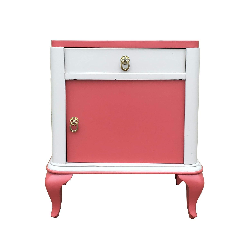 Handmade Wooden Decoupaged Door Knobs Handle Vintage Shabby Chic Dresser