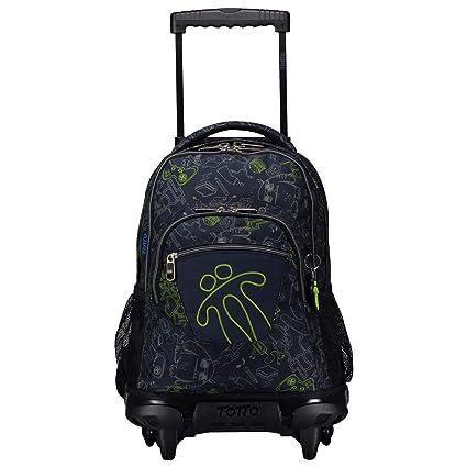 100% autentico e47c7 db3ae Mochilas escolares con ruedas, mochilas grandes infantiles en varios  colores y estampados - Mochilas Totto