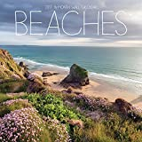 2017 Beautiful Photographed Beaches from Around the World Monthly Wall Calendar, Featuring Beaches from Jamaica, Hawaii USA, Poland, Brazil, Spain, UK, and More! 12 x 12 Inches