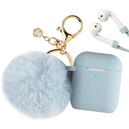 the latest 69222 e0e92 Airpods Case, Filoto Airpod Case Cover for Apple Airpods 2&1 Charging Case,  Cute AirPods Silicon Case with Airpods Accessories ...