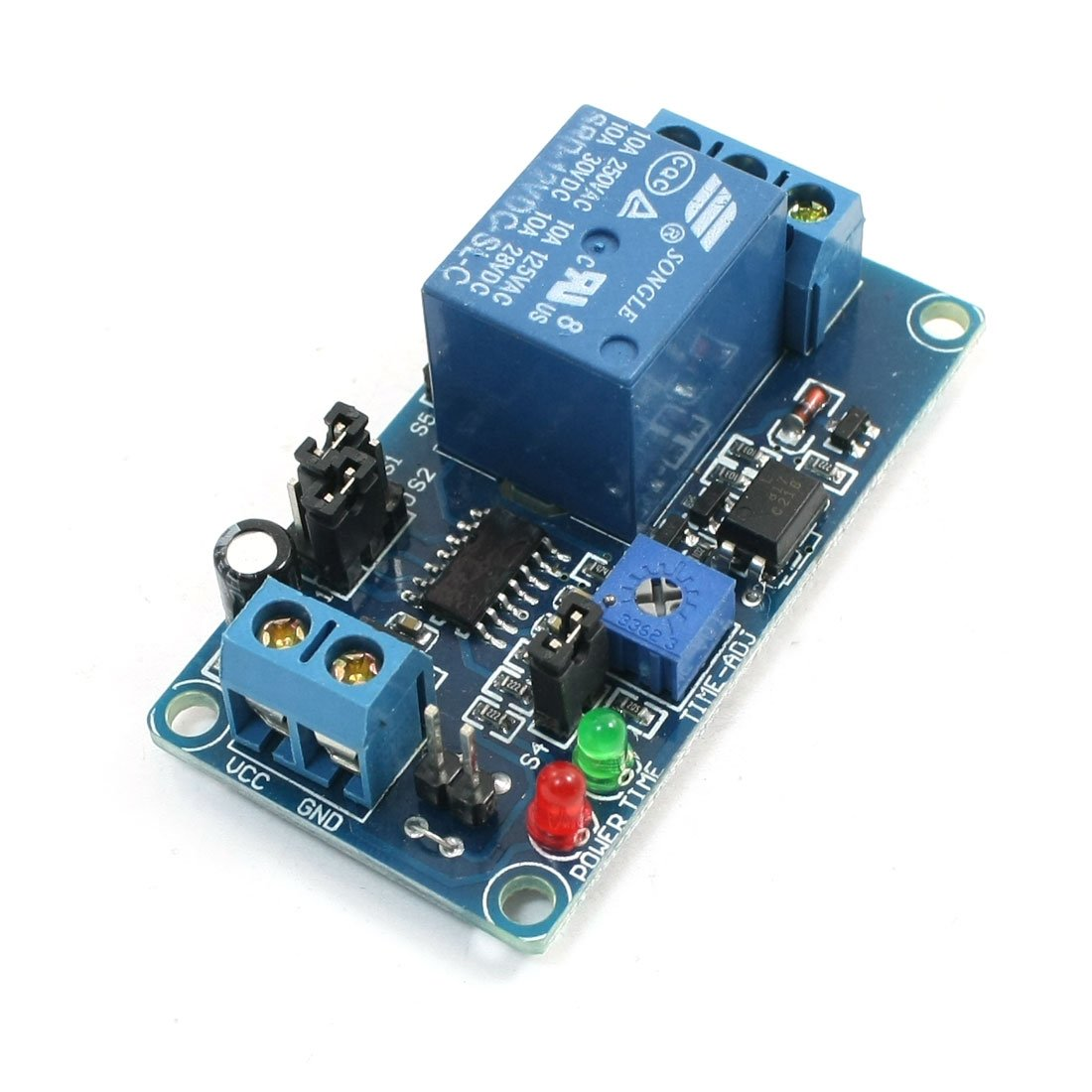 Amazoncom Uxcell Delay Relay Module Home Improvement - Normally open timed closed relay