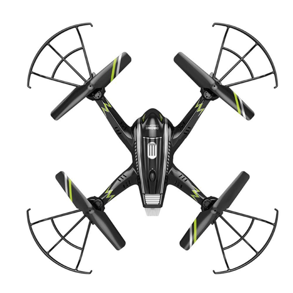 Drone, Fotografia Aerea Aerei a Quattro Assi con Luce LED 720P HD Fotocamera, Built-in giroscopio a Sei Assi Durevole Adatto per i Bambini e Volare di Notte