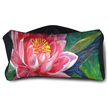 Amazoncom Eye Pillow Red Lotus Flower Great Mens Portable