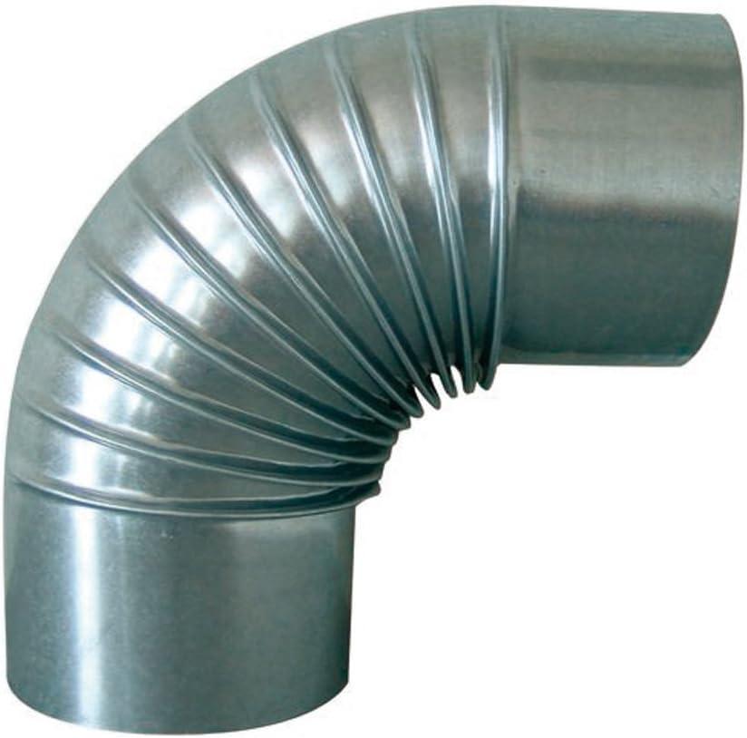 d 90 mm €21,60//m Rauchrohr aus Aluminium 0,50 m lang