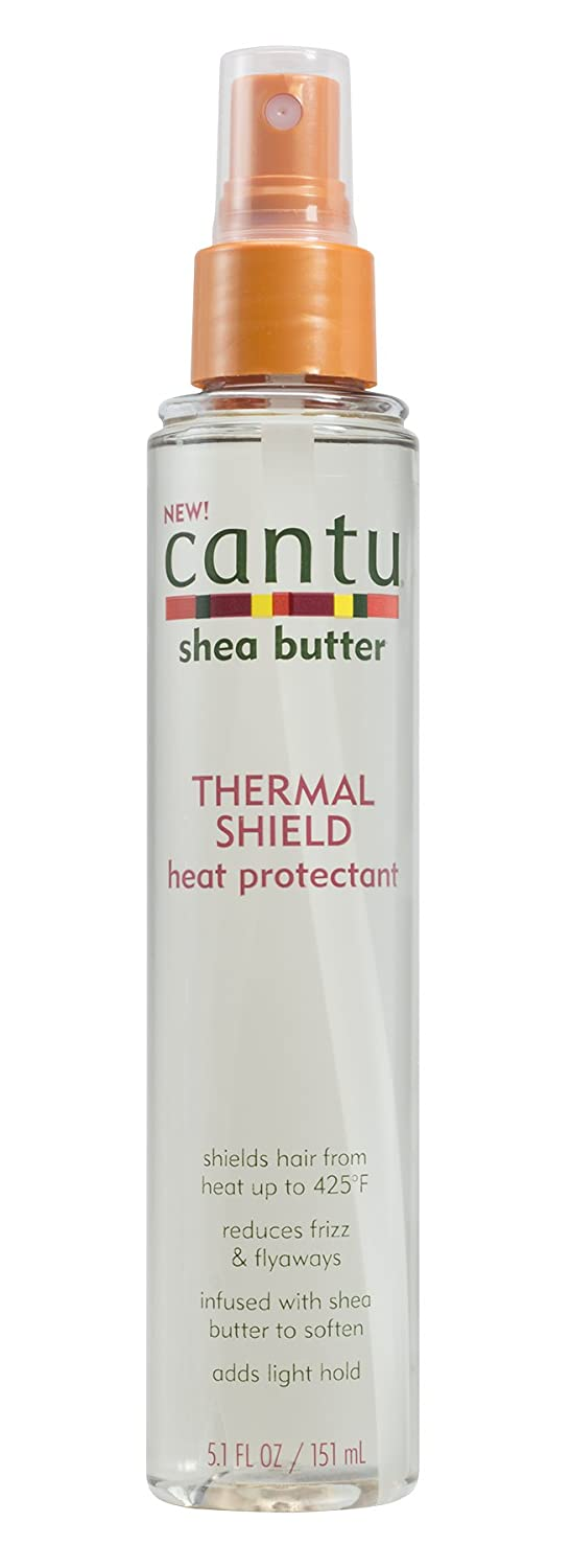Cantu Shea Butter Thermal Shield Heat Protectant, 5.1 Fluid Ounce Dr. Teals 07558-12/3PK