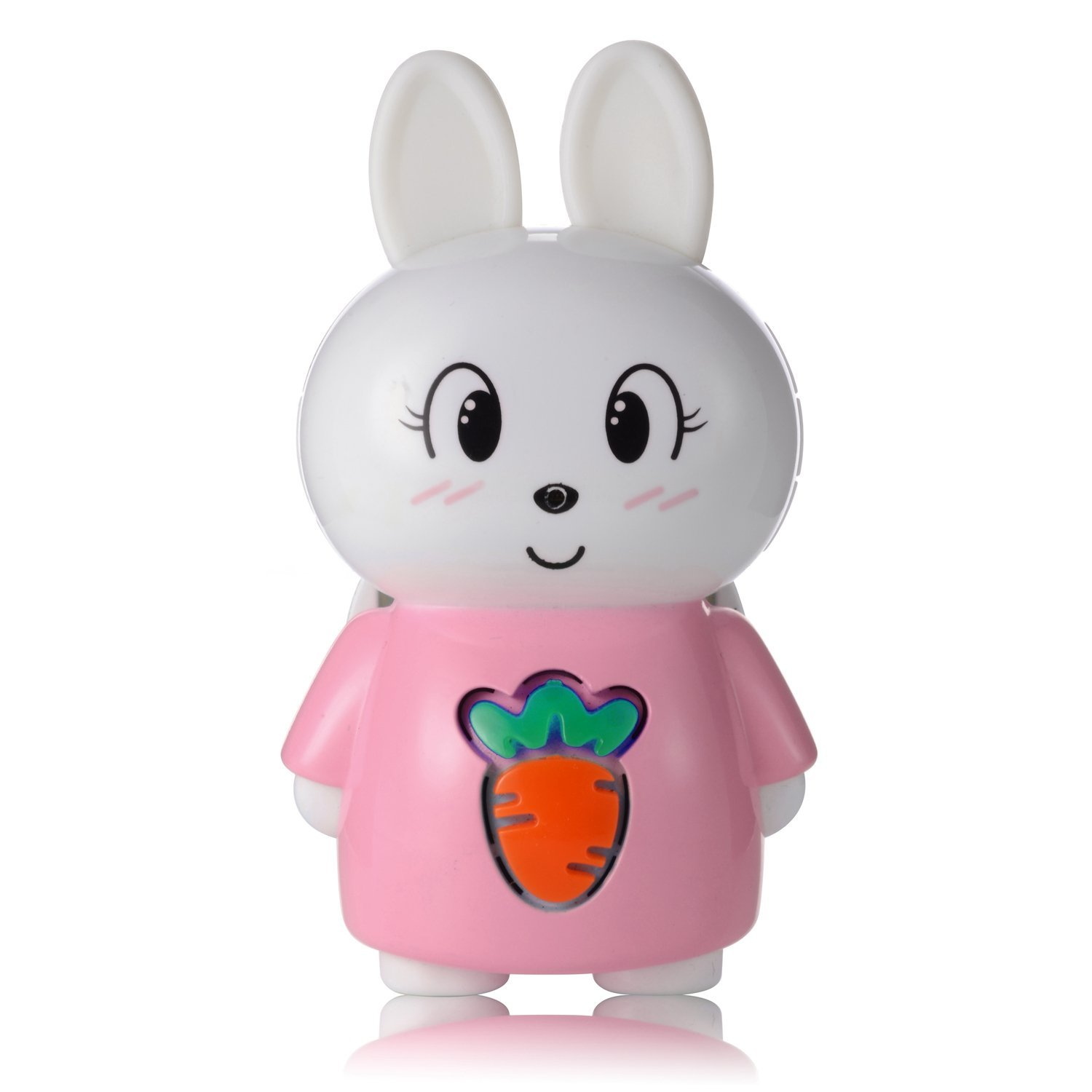 AGPTEK S1 8GB Bluetooth Bunny Storytelling for Kids,Wearable Children Digital Player, Pink RKS1P