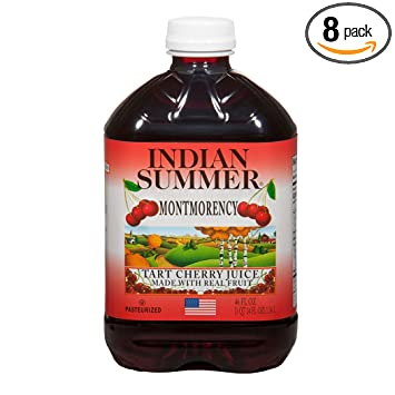 Amazon.com : Indian Summer 100% Juice, Montmorency Cherry, 46 Ounce ...
