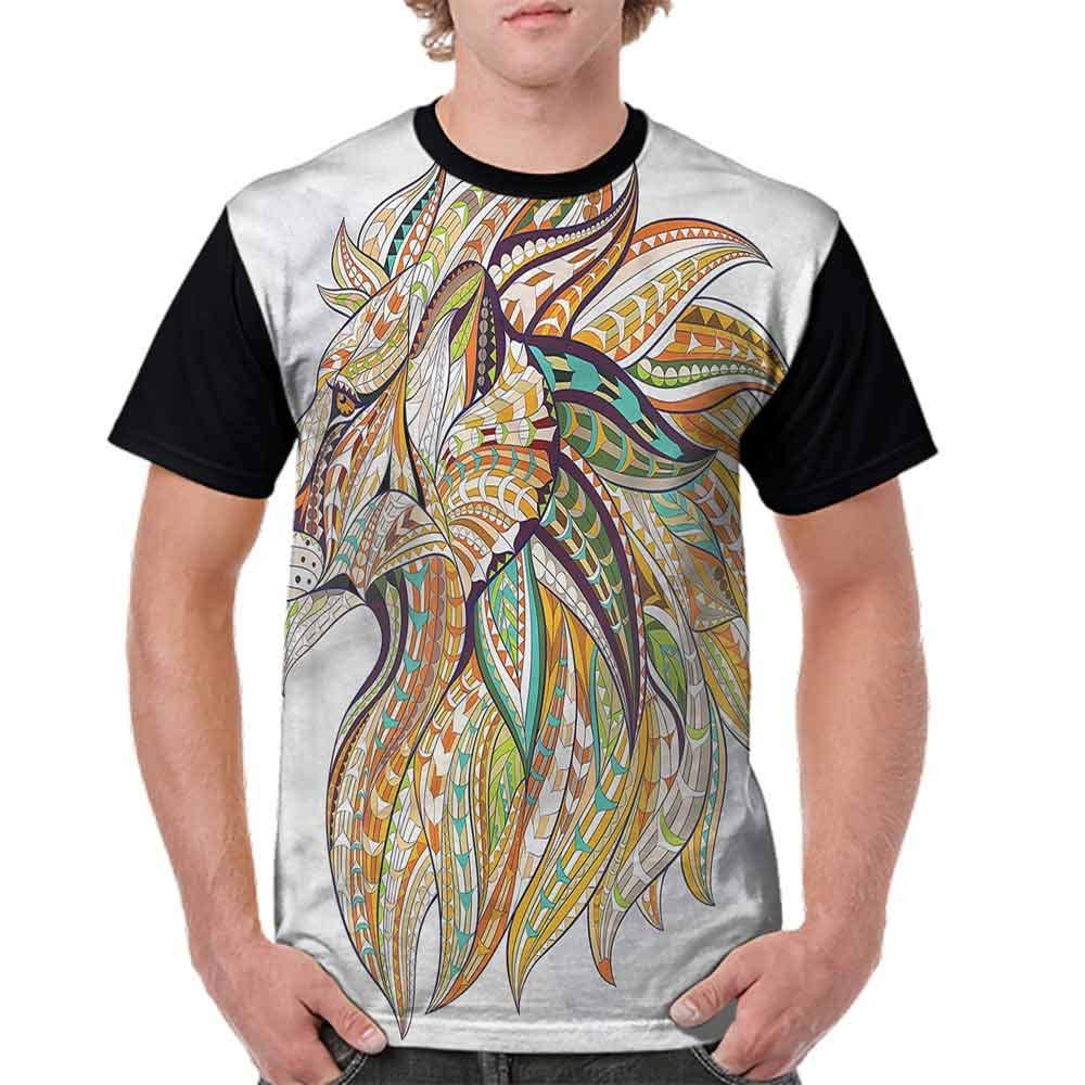 BlountDecor Fashion T-Shirt,African Culture Tribal Fashion Personality Customization