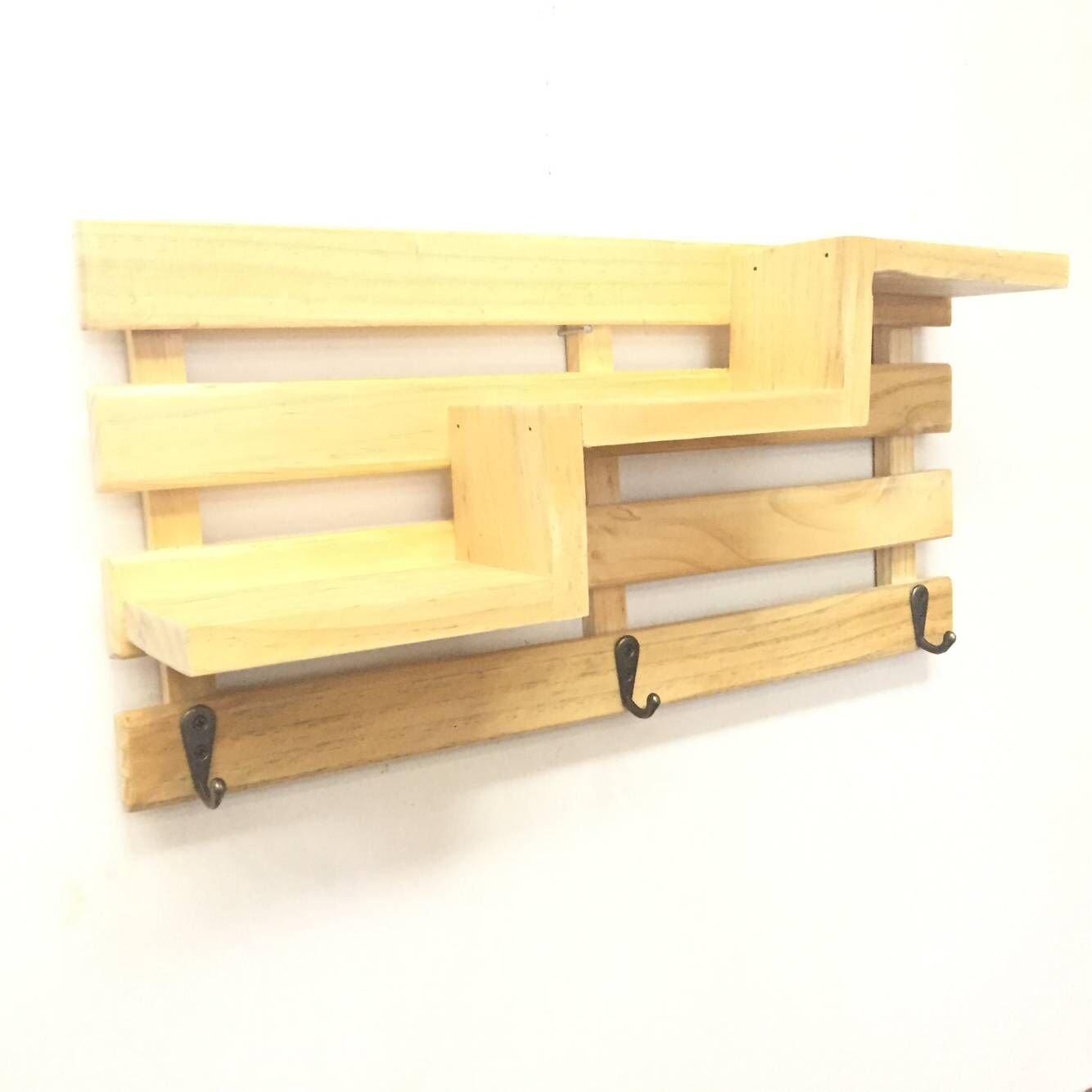 Amazon.com: Rustic Key Holder Rustic Wall Decor, Natural Wood Key ...