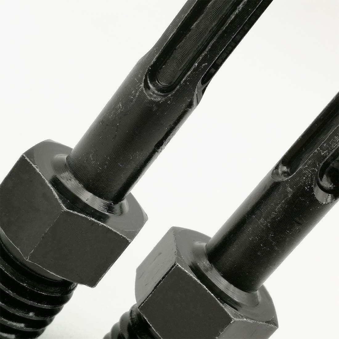 SHDIATOOL Core Drill Bit Adapter 5//8-11 Thread Male to SDS Plus Shank
