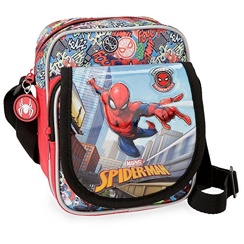 Marvel Messenger Bag, Multicolour (Multicolor)