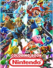 Nintendo Coloring Book: An Impressive Coloring Book For Relaxation With Many Images Of Nintendo