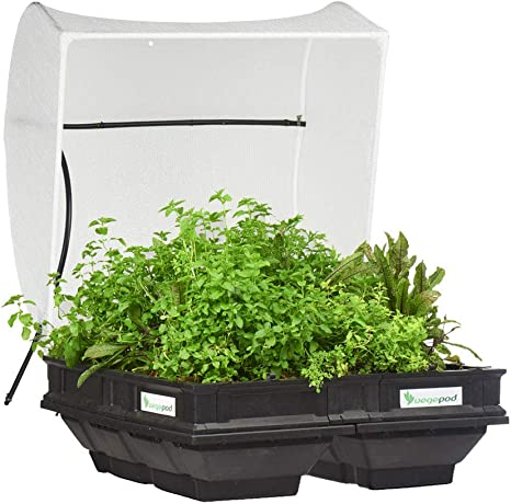 Medium Trolley 10 Years Warranty Easily Elevated to Waist Height Raised Garden Bed Vegepod Self Watering Container Garden Kit with Protective Cover