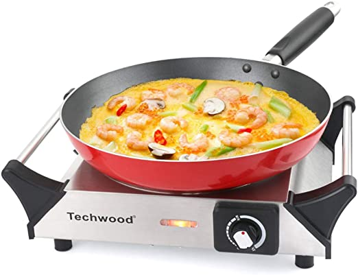 Amazon.com: Techwood ES-3103 - Quemador eléctrico portátil ...