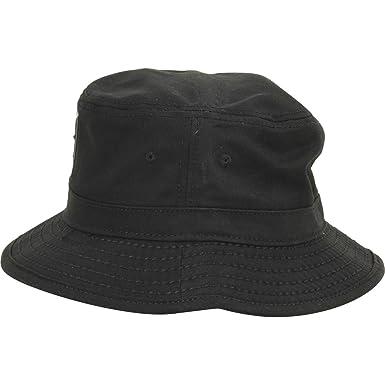 9e75440555a Amazon.com  True Religion TR2096 Shiny Buddha Bucket Hat Black S M  Clothing